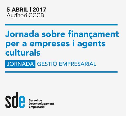 Jornada sobre finançament per a empreses i agents culturals