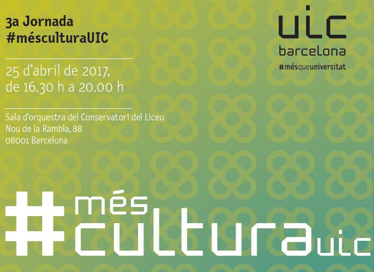 Vine al #MésCulturaUIC per saber com finançar un projecte cultural