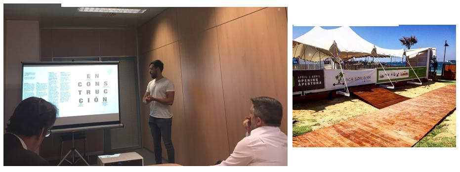 Mini-fòrum a les oficines de BANC amb dues startups