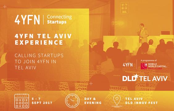4YFN Tel Aviv  (5-7 September 2017)