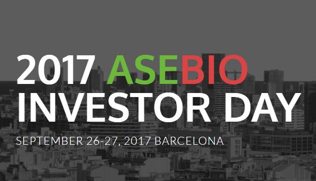 ASEBIO Investor Day (26 i 27 Setembre)