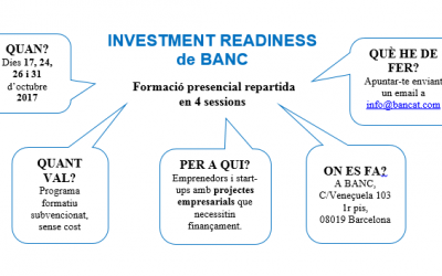 Investment Readiness (Octubre 2017)