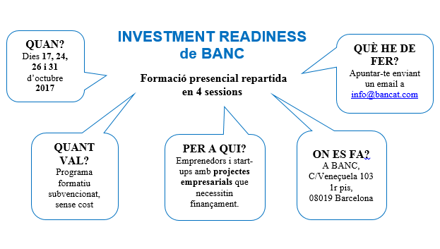 Investment Readiness (October 2017)