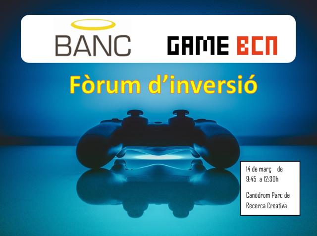 (Català) Arriba el fòrum d'inversió del Gaming i Videojocs