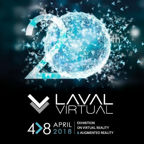 LAVAL VIRTUAL: Asiste a las jornadas de la realidad virtual y de las nuevas tecnologías