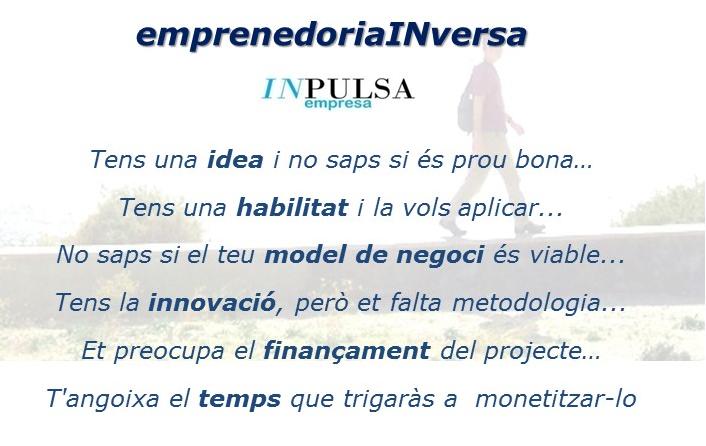 """(Català) INpulsaempresa presenta el IV programa """"emprenedoriaINversa"""""""