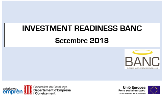 Investment Readiness (setembre 2018)