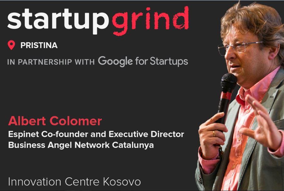 Startup Grind, la comunitat que agrupa dos milions d'emprenedors, presenta Albert Colomer, director de la xarxa BANC