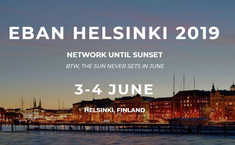 Quieres participar en un foro de inversión en Helsinki.