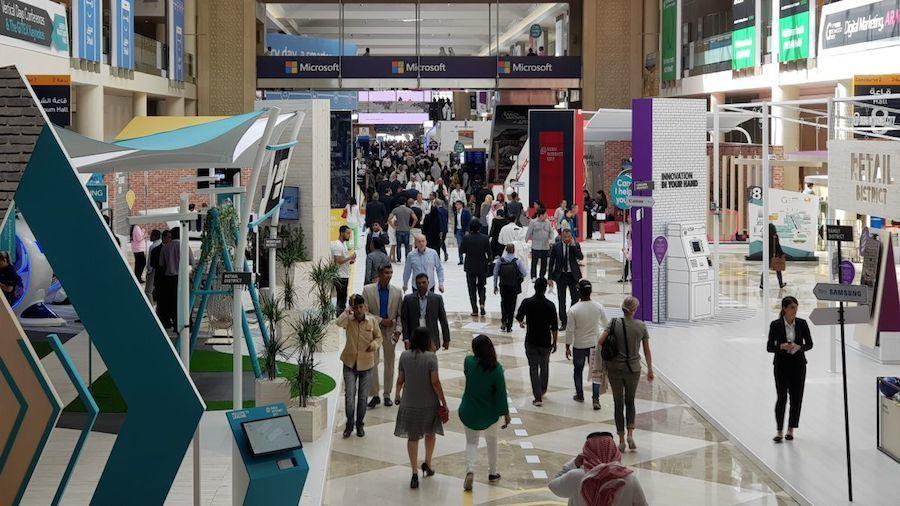 Albert Colomer asiste al 'GITEX Future Stars' celebrado en Dubai