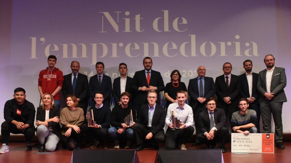 Se celebra la 19ª edición de la noche del emprendimiento en el Tecnocampus