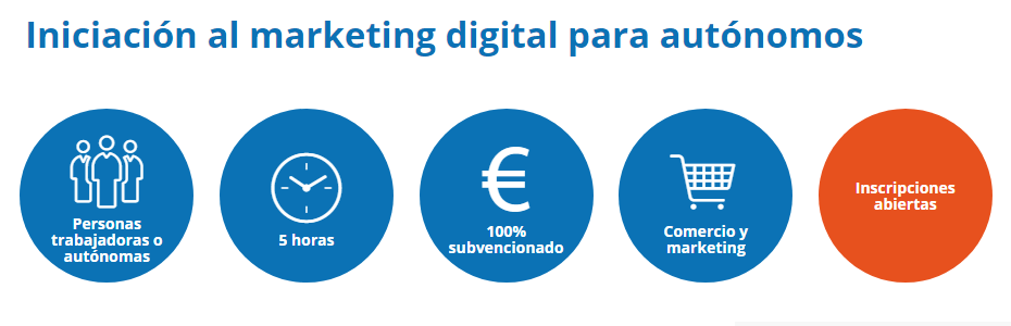 Iniciación al marketing digital para autónomos