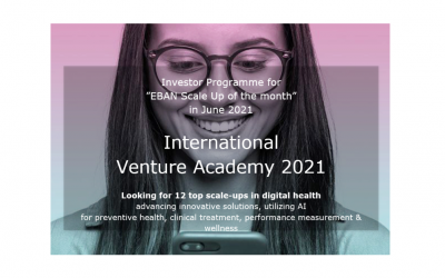 INTERNATIONAL VENTURE ACADEMY 2021. Applications by 31st March