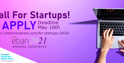 Sign up now to Pitch at EBAN's 2021 Congress!